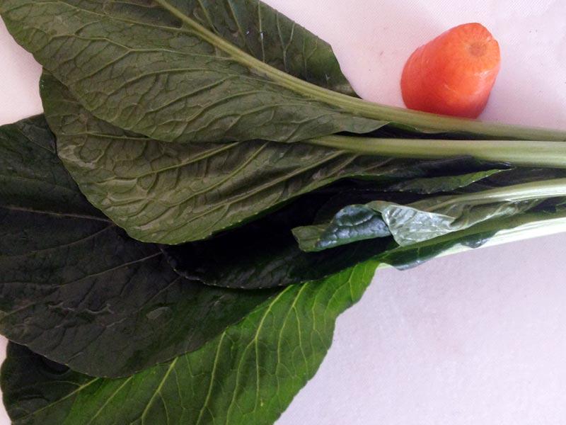 あんかけ用野菜の端