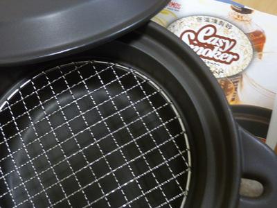燻製鍋 開けたところ