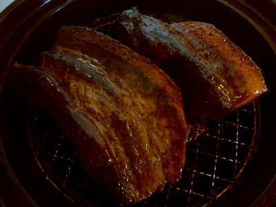 豚ばら燻製 完成