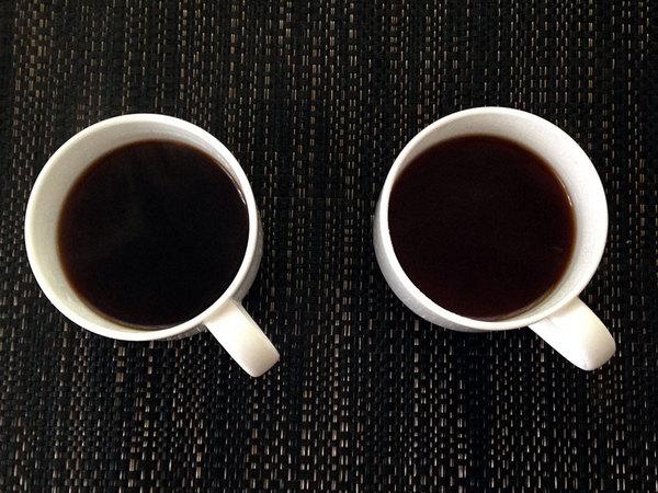コーヒーの比較