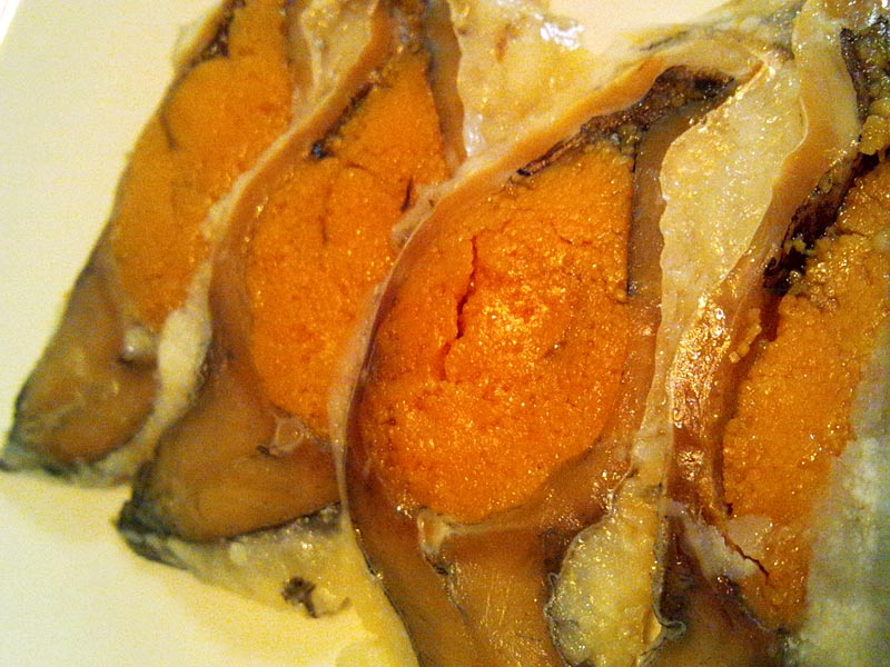 鮒寿司はチーズの味わい