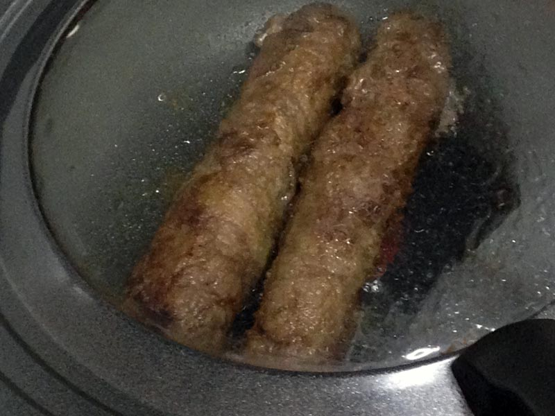 肉巻き野菜 余熱で野菜を柔らかく