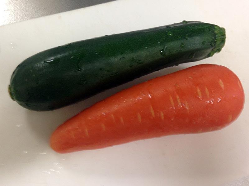 肉巻きに使う野菜