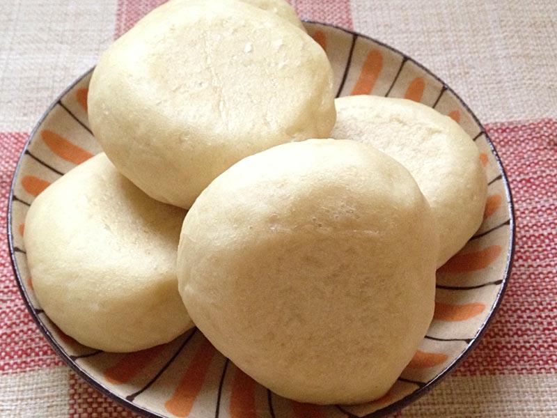 フライパンで白パン焼けます